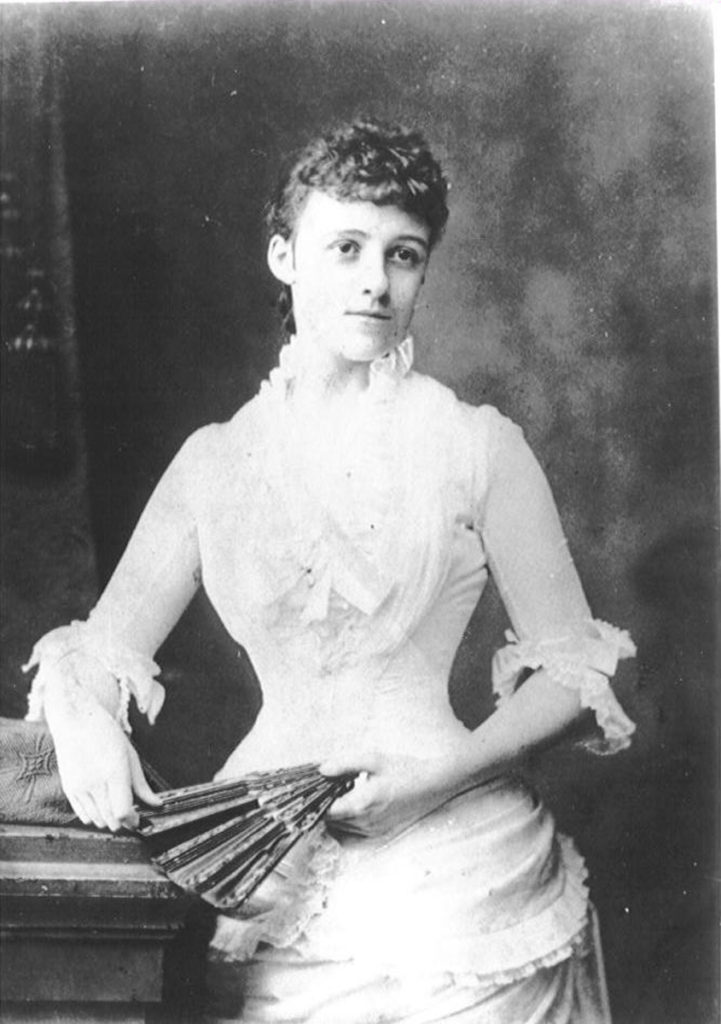 A society portrait of Edith Wharton taken in by FH Voight in 1889, the author was 27 years old. Photo Courtesy of: Beinecke Library, Yale University