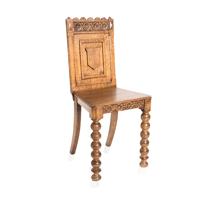 Oak-Carved-Chair
